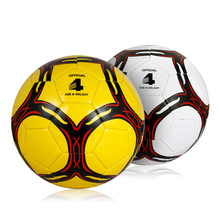 Soccer Ball Children Kids Teenager Outdoor Sports Trainning Exercise Ball Hot Sale Size 4 PVC Popular Football Ball(China)