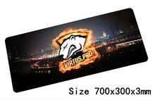 virtus pro mouse pad 700x300x3mm pad to mouse notbook computer mousepad Christmas gift gaming padmouse gamer to laptop mouse mat
