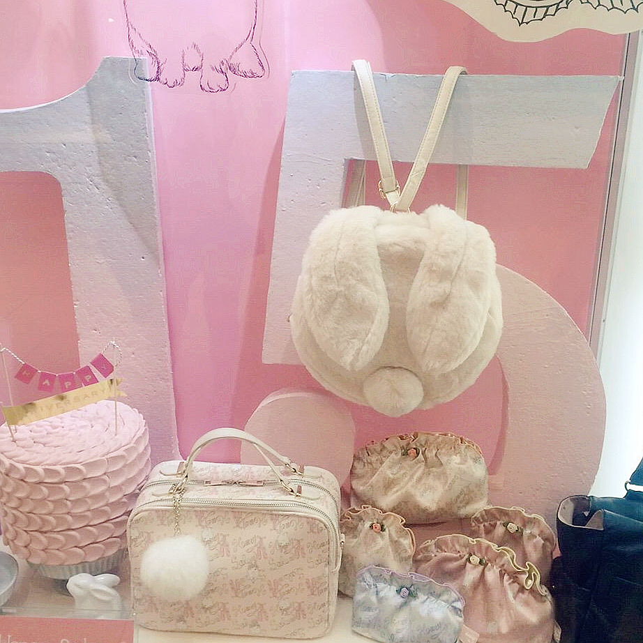 Honey&amp;salon three-dimensional rabbit ears backpack sweet girl soft sister cross shoulder bag super lovely shoulder bag<br><br>Aliexpress