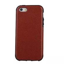 Luxury Retro Crazy Horse PU Leather Case For iPhone 5 5S SE Vintage Phone Bags Back Cover Shell Black Brown White(China)