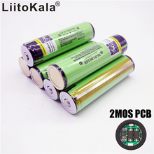 6PCS/lot New Protected Original Rechargeable battery 18650 NCR18650B 3400mah with PCB 3.7V For panasonic Free Shipping(China)