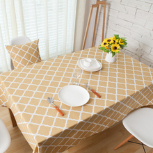 Tablecloths Striped Table Cloth Linens Personalized Outdoor Indoor Yellow Tablecloth Fabric  Vintage Plaid Rectangle Tablecloth