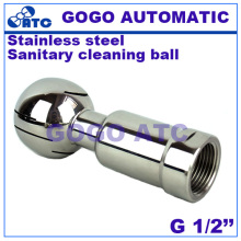 "1/2"" Female Thread 304 Stainless Steel Sanitary Thread Rotary Spray Ball Tank Cleaning Ball(China)"