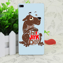 C2982 Brad The Jerk Dog Transparent Hard Thin Case Skin Cover For Huawei P 6 7 8 9 Lite Plus Honor 6 7 4C 4X G7