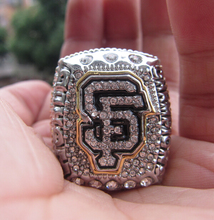 Free Shipping souvenir 2014 2015 San Francisco Giants Baseball championship ring BUMGARNER fan collectable Factory wholsesale