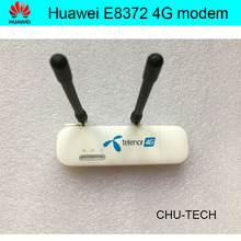 Unlock Huawei E8372  E8372h-608 with antenna LTE USB Wingle LTE Universal 4G USB WiFi Modem car wifi
