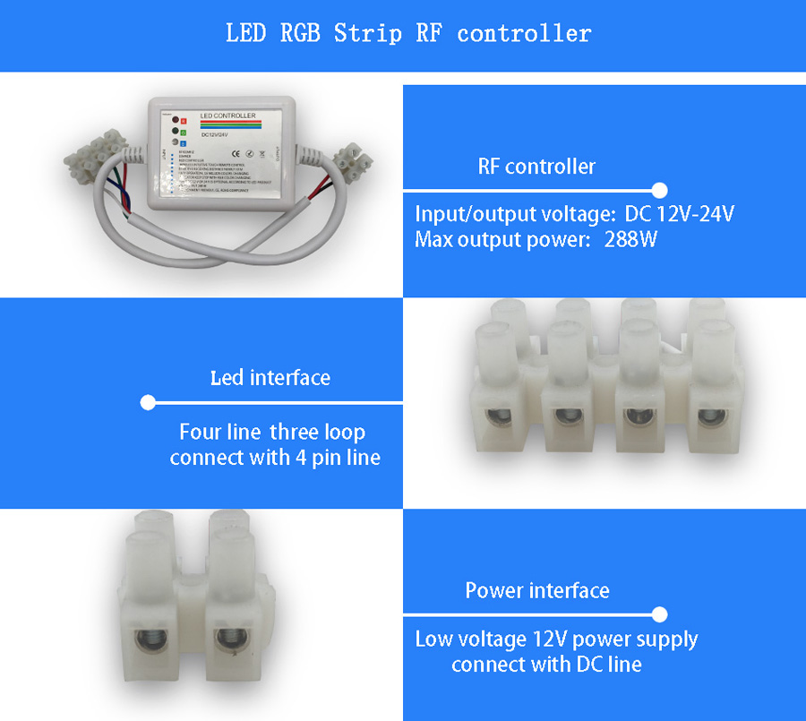 led touch receiver