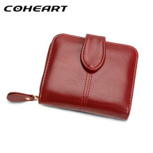 COHEART Wallet Women Fashion Purse Female Wallet leather multifunction purse small money bag coin pocket Wallet Top Quality !