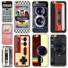 Hot For iPhone 6 6S Phone Case Cover Camera Style Magnetic Calculator Classic Funny Designs Mobile Phone Bag Protector(China)