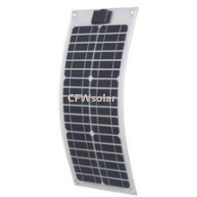 Whole sale solar panel,flexible solar panel 20W, sun batteries for 12V battery, with aluminum plate