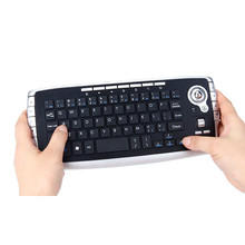2016 New Mini 2.4Ghz Wireless Keyboard Touchpad With Mouse Professional Gaming Keyboard For PC PS4 Smart TV(China)