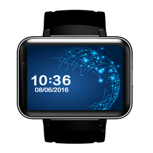 Android 2.2 inch HD IPS LED Screen 900mAh Battery GPS WIFI 3G calls step gauge sleep all touch screen smart watches Camera
