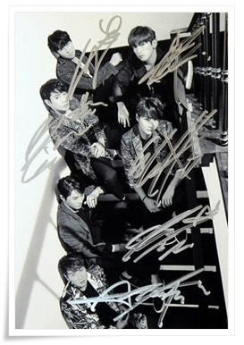 Shinhwa autographed signed group photo 10*15cm 4*6inches freeshipping new korean 01.2017 <br>