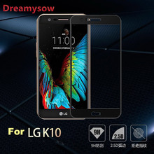 Buy HD 9H Screen Protector Explosion Proof Full Coverage Protective Film LG K4 K10 K8 2016/2017 G6 stylo 3 K7 V20 Glass Cover for $1.05 in AliExpress store