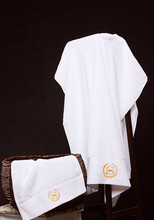 100% Pakistan Cotton Towel Set for Adults Pure White Hotel Towel Travel Towels Bathroom Novelty Toalha for Beach 70*140cm/600g