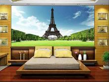 Customized 3D wallpaper for wallpaper 3d wall murals Eiffel Tower, Paris, France, gustaf 3d background wall home decoration