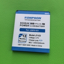 3400mAh JY-G3 For Jiayu G3 battery jiayu G3S g3C G3T JY G3 battery free shipping+Tracking number