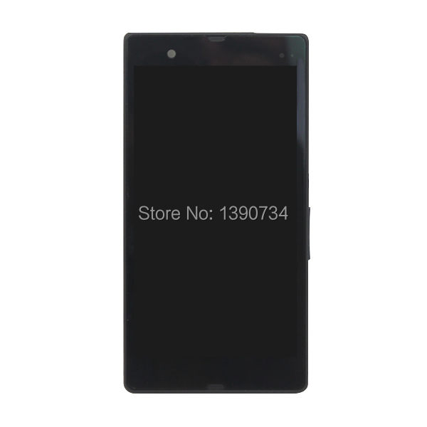 Best Quality Full LCD Screen Touch Screen Digitizer Assembly with frame For Sony Xperia Z L36H L36 LT36 Free Shipping<br><br>Aliexpress