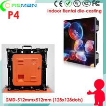 Low price ecran geant led prix  p4 128x256mm led module, multi color media led curtain wall p3 p4 p5 for stage backdrop