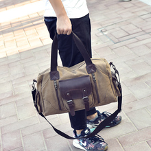 Special Design Large Canvas Travel Bags Men Duffle Bag Fashion European Style Good Quality Luggage Bag Shoulder Messenger Pouch