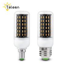 Buy TSLEEN Cheap E27 E14 B22 G9 GU10 LED Corn Lamp 220V 4014 SMD 12W 18W 25W 30W 35W Cover Corn Light Bulb Energy Saving Home Bulbs for $1.02 in AliExpress store