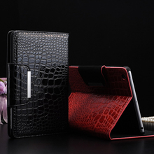 in stock New arrival High Quality Slim Crocodile Leather Case for iPad Mini Smart Cover with Stand for Apple iPad Mini2 7.9 inch
