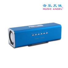 Music Angel JH-MAUK2B Portable USB FM Motorcycle with SD/TF Card slot  Mini Speaker Amplifier for phone computer Speaker