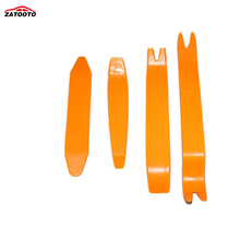 ZATOOTO  4pcs/Set Car Panel Trim Audio Stereo Dash Refit Molding Remove Install Pry Tools kits Refit Molding Install replacer