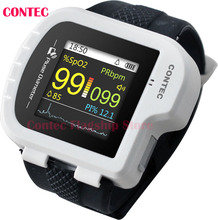 CONTEC,CMS50I Pulse Oximeter ,Health,White color,CMS50I Wrist Pulse Oximeter, perfect for long-term PR & O2 Saturation Monitorin(China)