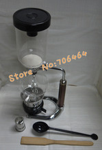 3 cups Syphon coffee maker vacuum coffee brewer siphon coffee machine with perfect quality and the best price factory directly(China)