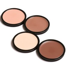 4 Colors Single-color Concealer / Replacement Cover Stains Desalination Dark Circles Beauty Make Up Powder Palette Foundation BT(China)