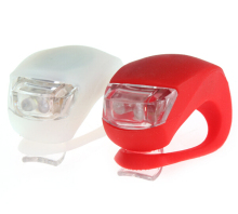 Mini Brillant Waterproof SILICON Bike Bicycle Cycling Beetle Warning Light LED Front Light Rear Tail Lamp(China)