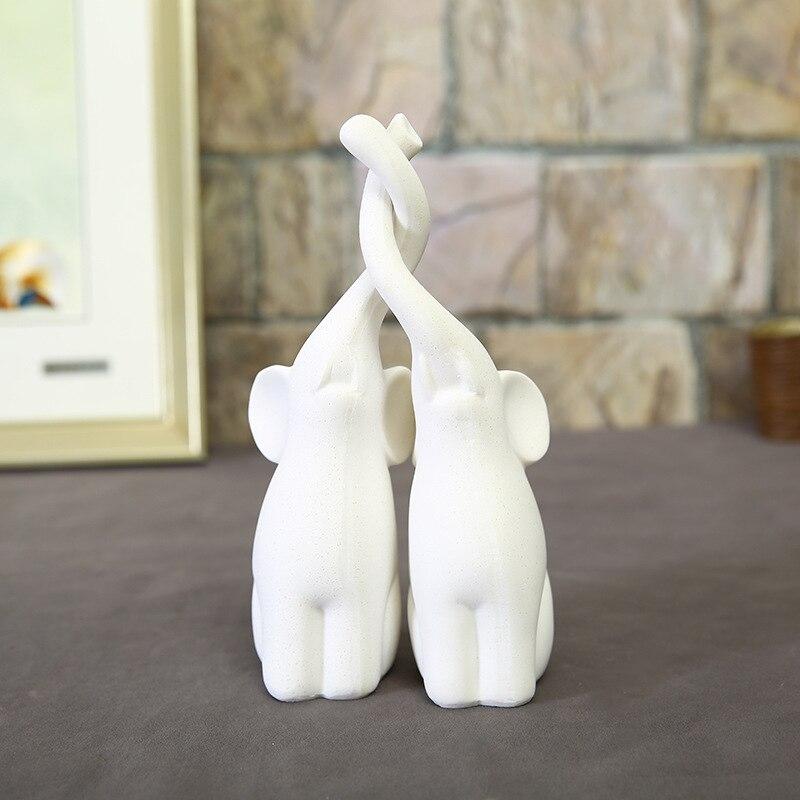 Elephant Lovers Figurines (6)