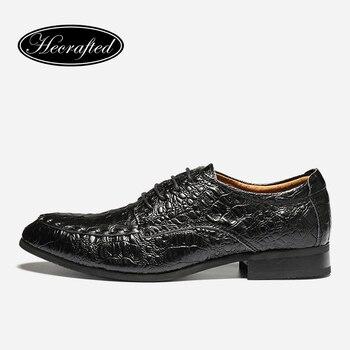 38 ~ 50 de Los Hombres Zapatos de Boda partido de la Vaca de Los Hombres de Moda de Cuero formales Zapatos de vestir #1563