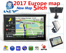 Oriana Car GPS Navigation 5 inch Touchscreen Navigator 128MB 8GB SAT NAV MP3 FM Europe Map Russia France Belarus Ukraine etc(China)