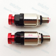 5*0.8mm Front Fork Air Bleed Bleeder Relief Valve 5mm Red for 125 150 250 cc CRF YZF Dirt Pit Bike ATV Quad Motocross Motorcycle