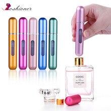 OSHIONER 8ml Perfume Spray Refillable Bottle Aluminum Spray Atomizer Portable Travel Cosmetic Container Perfume Bottle(China)