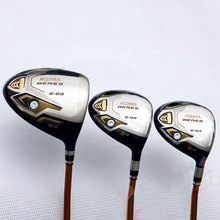 Hot New Golf clubs HONMA S-03 3 star Golf wood clubs driver+fairway wood Graphite Golf shaft R or S flex Free wood set shipping(China)