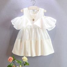 New Special Offer Direct Selling Petal Sleeve Ball Gown Cute Toddle Girls Baby Princess Lace Dress Party Pageant Tutu Dresse