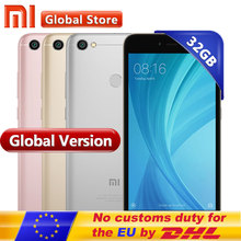 "Global Version Xiaomi Redmi Note 5A 3GB 32GB Smartphone cellphon Redmi Note5A 3GB telephone Snapdragon 435 5.5"" Fingerprint(China)"