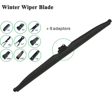Multifit Windscreen Winter Wiper Blade Clean Snow Car accessory J-Hook / Pinch Tab / Push Button / Side Pin / Claw