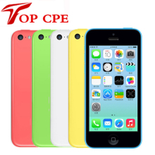 Original iPhone 5C 16GB 32GB 8GB Factory Unlocked 3G dual core WCDMA WiFi GPS 8MP Camera 4.0 inch IOS iCould Used Mobile phone(China)