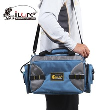 iLure Multi-Purpose Fishing Lure Bag Shoulder Bag Handbag Outdoor Pesca Fishing Gear Kit Waterproof Fishing Bags