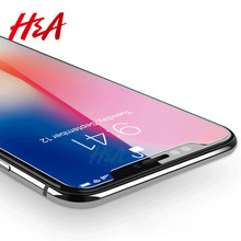 Buy H&A 0.3mm 9H Premium Tempered Glass Apple iPhone X 10 Screen Protector Toughened protective Glass film iPhone X Glass for $1.88 in AliExpress store