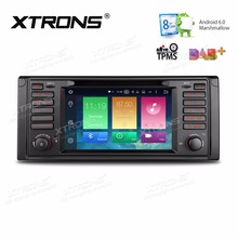 XTRONS 7'' Android 6.0 Octa Core 1 din Car Radio DVD Player GPS Navigation for BMW 7 Series 1994-2001 E39 1995-2003 M5 1999-2003(China)