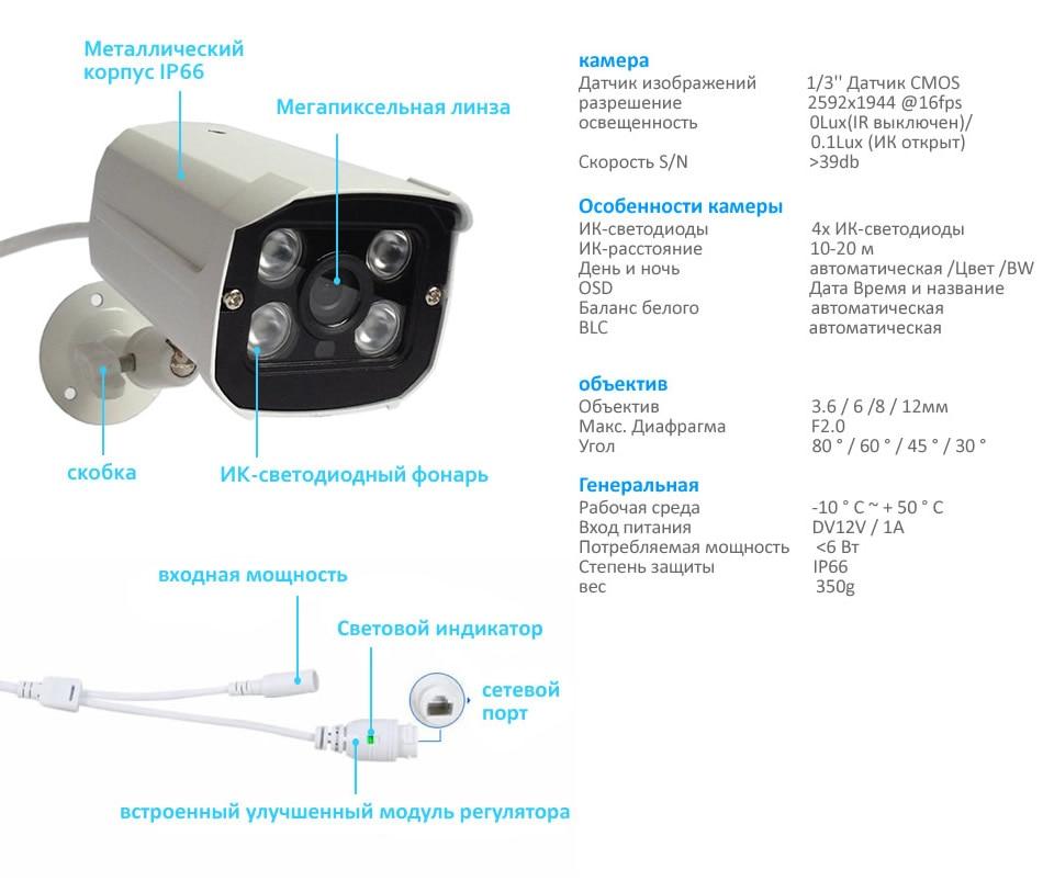 2MP IP camera W54I2T-RU 7-4