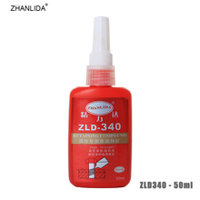 ZHANLIDA 340 50ml Screw Glue Anaerobic Glue Metal Strong Adhesive Thread Seal up Anti Rust Screw Locking Agent