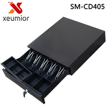 5 Bill 5 Coin 3 Position Lock 1 Check Port POS Cash Drawer Cash Register Durable Mental Clip with RJ11 Interface(China)