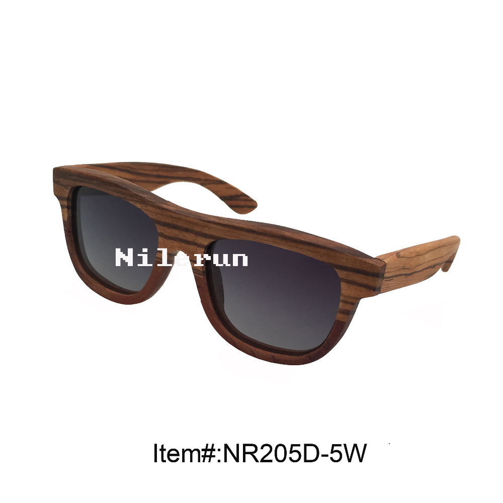 creative unique two tone splicing wood sunglasses<br><br>Aliexpress