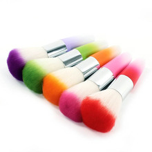 2017 Hot Nail Art Dust Remover Brush Cleaner Acrylic UV Gel Rhinestones Makeup Brushes Tools
